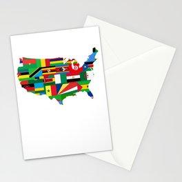 Black History Month African American Black Pride Shirt Dark Light Stationery Cards