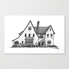 Harriet House I Canvas Print