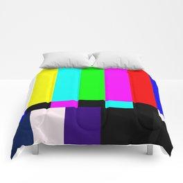 No Signal TV Comforters