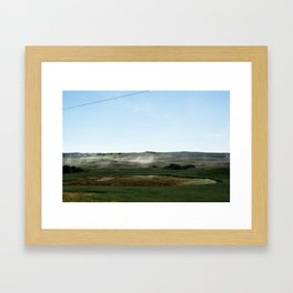 across Framed Art Print