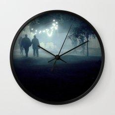 evening stroll Wall Clock