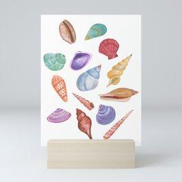 Sea Shells Mini Art Print