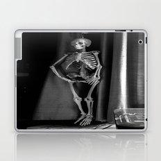The Skeleton by the Printer Laptop & iPad Skin