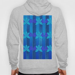 Orchid in blue Hoody