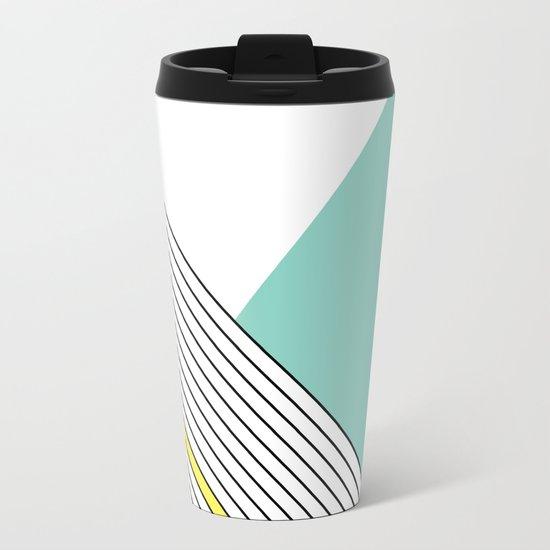 MINIMAL COMPLEXITY Metal Travel Mug