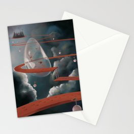 the red road Stationery Cards