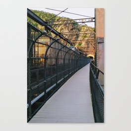 Bridge over Harper's Ferry Canvas Print