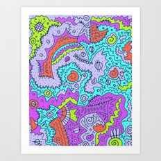Learning to Love the Imperfections Art Print