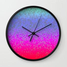 Glitter Star Dust G244 Wall Clock
