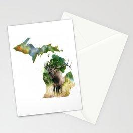 Michigan Elk Stationery Cards