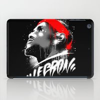 lebron iPad Cases featuring Lebron J by squadcore