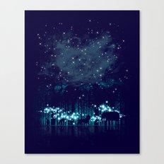 Cosmic Safari Canvas Print