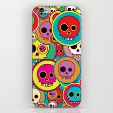 Button Skulls iPhone Skin