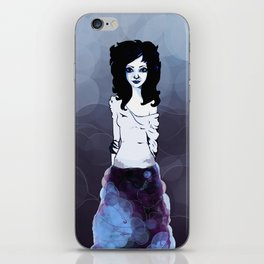 Bluish iPhone Skin