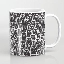 Pingu Ville Black Version Coffee Mug