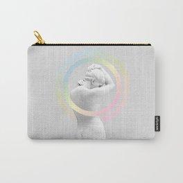 Marble Rainbow Venus Carry-All Pouch
