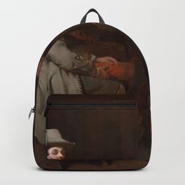 Michael Sweerts - Anthonij de Bordes and His Valet Backpack