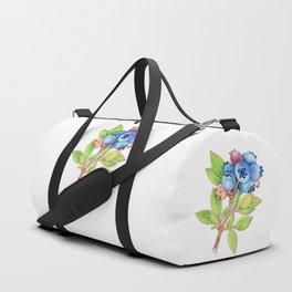 Wild Maine Blueberries Duffle Bag
