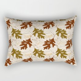 Oak Leaves Rectangular Pillow