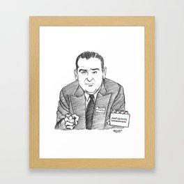 Sénateur Joseph Framed Art Print