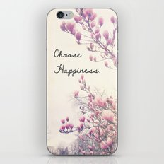 Choose Happiness iPhone Skin