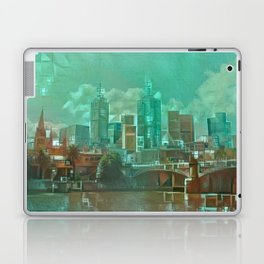 Melbourne Waterfront Abstract Laptop & iPad Skin