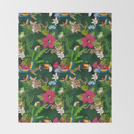 Rainforest Throw Blanket