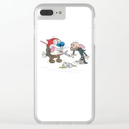 Solo's Intention Clear iPhone Case