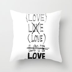 XLOVE Throw Pillow