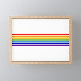 russia jewish flag Framed Mini Art Print