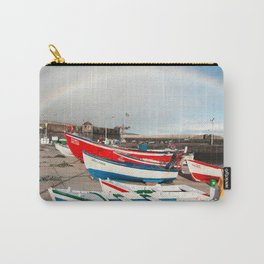 Rainbow at the harbour Carry-All Pouch