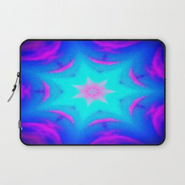 pink & blue starburst Laptop Sleeve
