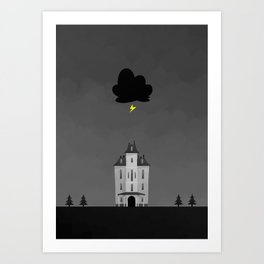 The Rats in the Walls Art Print