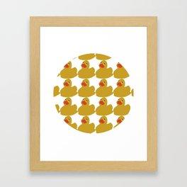 Oh My Duck n. 2 Framed Art Print