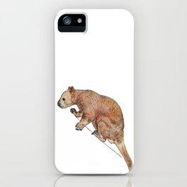 Indecisive Tree Kangaroo iPhone Case