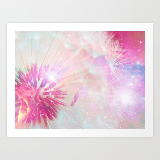 Wishes Wings Art Print