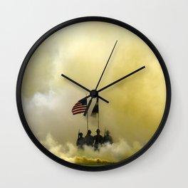 US Army Graduation - Panoramic Wall Clock