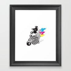 Grim Hellraiser Framed Art Print