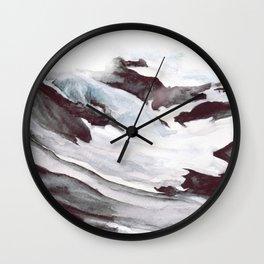 Icy Wall Clock
