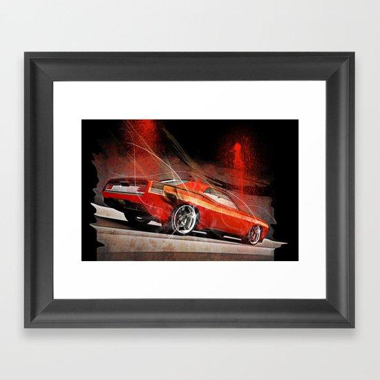 American Dream Car #2 Framed Art Print
