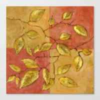 birch Canvas Prints featuring Birch by Edith Jackson-Designs