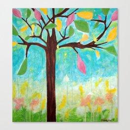 Landscape Art - Tree: Spring Canvas Print