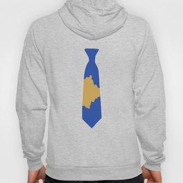 Kosovo Patriotic Tie Shirt Hoody