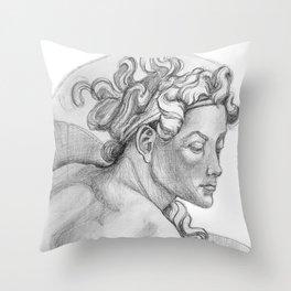Ignudi Sistine Chapel Throw Pillow