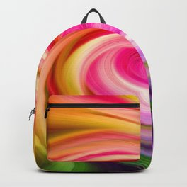 Pink Orchid Backpack
