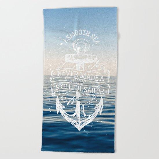 Sea Quote Beach Towel