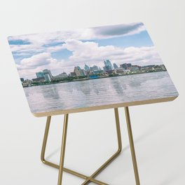 1513 - Philadelphia Cityscape from New Jersey Side Table