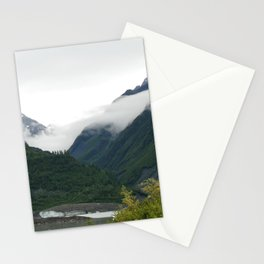 Foggy Mountain Mornings Stationery Cards