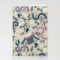 Stationery Cards featuring Winter Woolies by Anna Deegan