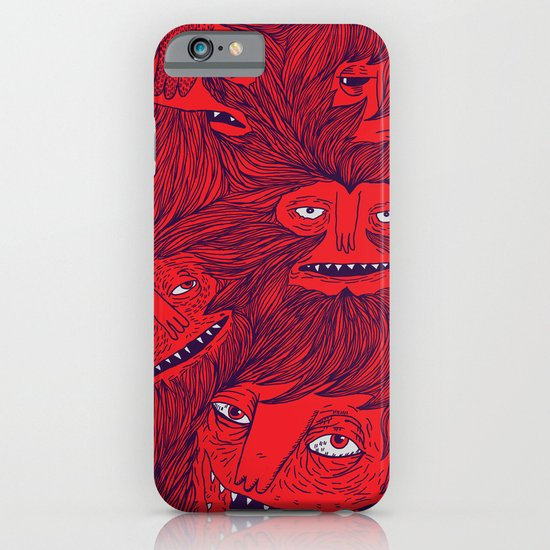 Hairwolves iPhone & iPod Case
